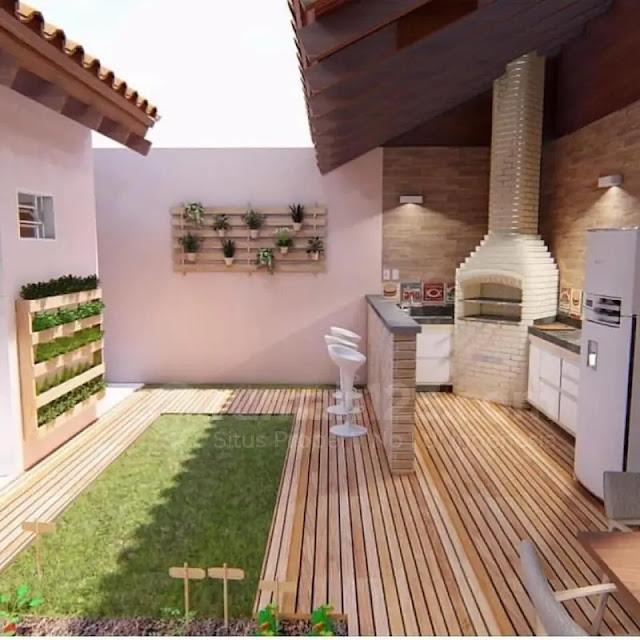 Desain Khusus untuk Renovasi Rumah Subsidi bagian Belakang