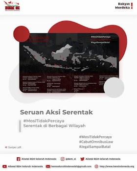 Seruan Aksi Serentak BEM Se-Indonesia