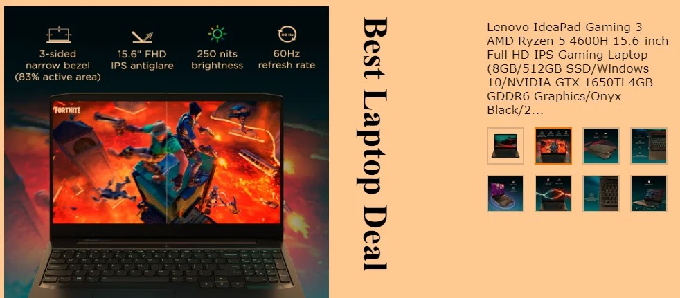 Lenovo IdeaPad Gaming 3 AMD Ryzen 5 4600H