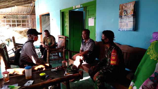 Babinsa Himbau Isolasi Mandiri Bagi Pemudik Di Pedan