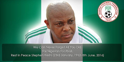 NFF mourns Nigeria legend, Stephen Keshi
