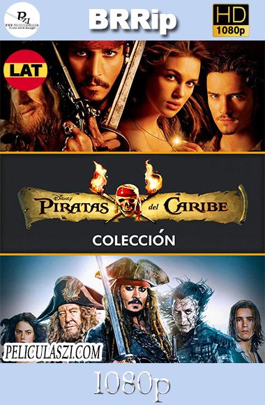 Piratas del Caribe: Colección (2003-2017) HD BRRip 1080p Dual-Latino