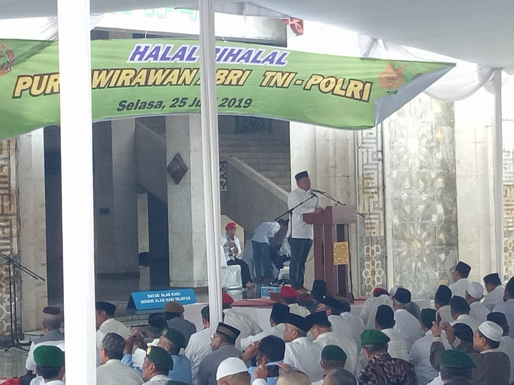Halal Bihalal Purnawirawan TNI Dipersulit, Sambutan Jenderal Gatot Bikin Kuping Pengkhianat Bangsa Kepanasan
