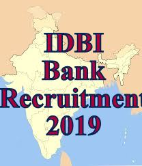 IDBI Recruitment 2019 | For Expert / Professional on Contract