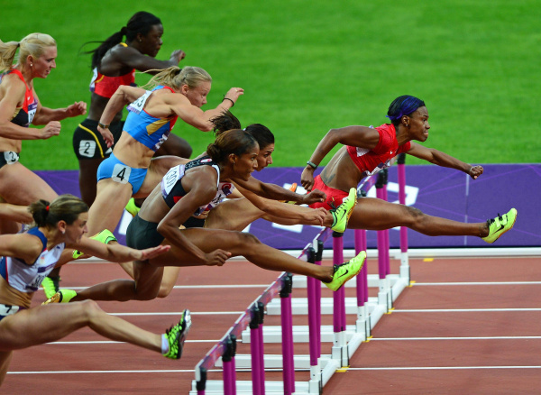 Running In the Olympics