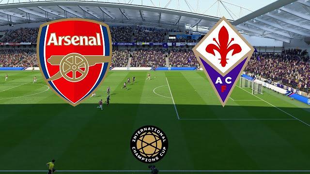 مباراة آرسنال وفيورنتينا اليوم الأحد 21/7/2019 Arsenal vs Fiorentina بطولة الكأس الدولية للأبطال