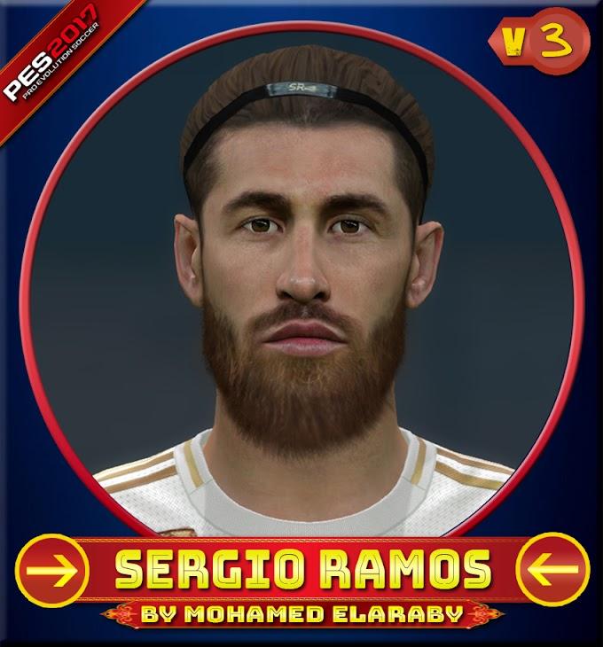 Sergio Ramos Face V.3 Real Madrid CF Player - PES 2017