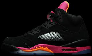 reputable site 12299 3d4c9 05 11 2013 Air Jordan 5 Retro Girl s 440892-067 Black Bright Citrus-Fusion  Pink  115.00