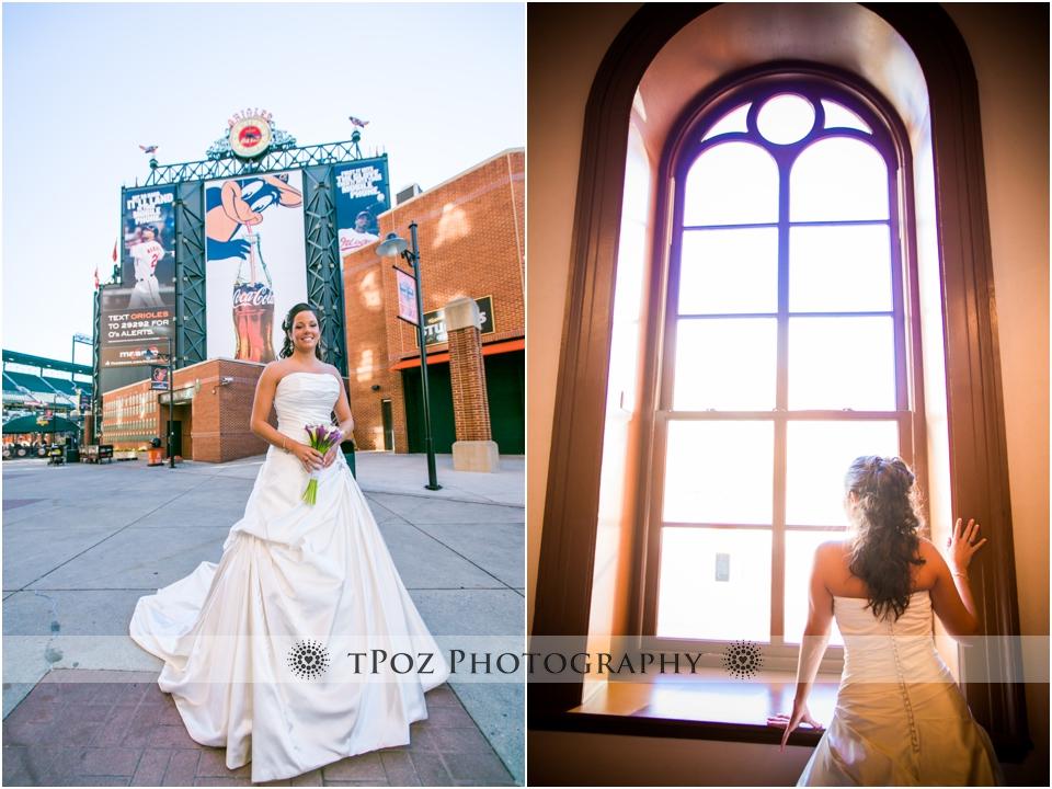 Sports Legends Museum Wedding Photos