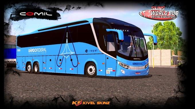 COMIL 1200 6X2 - VIAÇÃO RÁPIDO FEDERAL