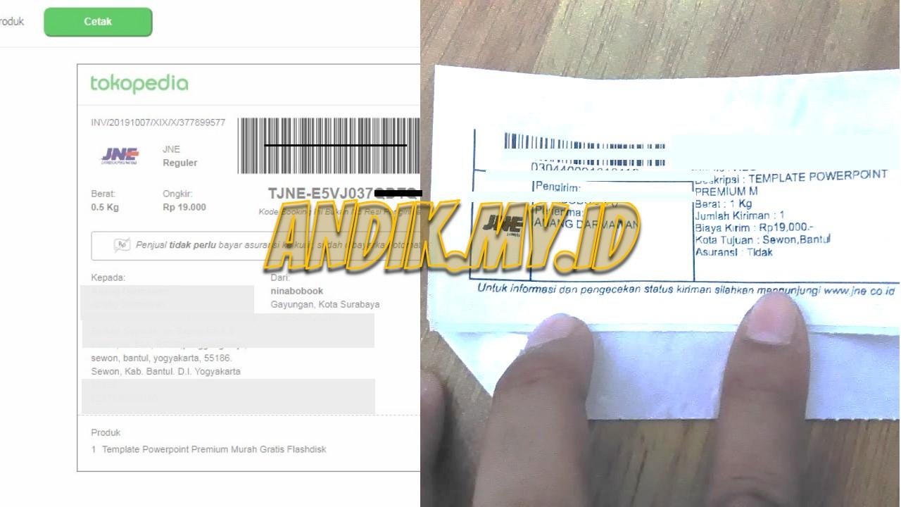 4 Fungsi Kode Booking Jne Dari Tokopedia Andik My Id