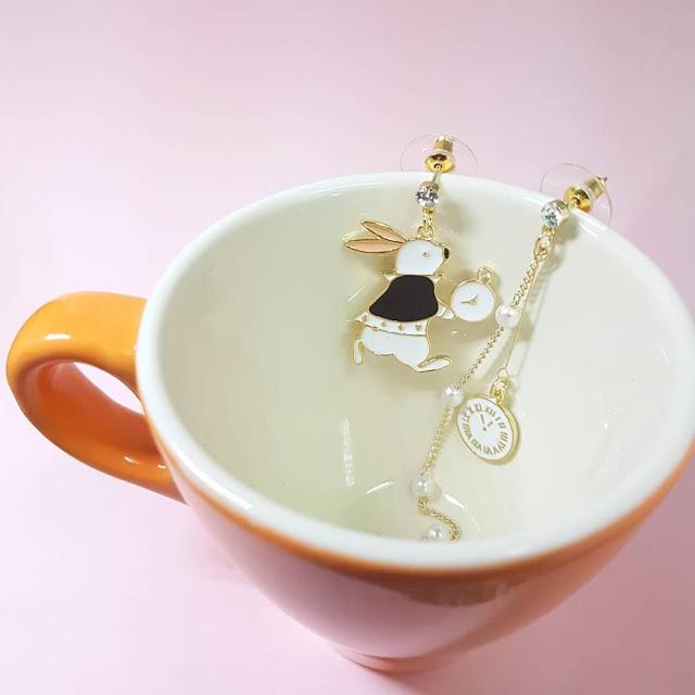 Dijual perhiasan imitasi impor lucu berkualitas KWANG EARRING, Toko Online Jakarta
