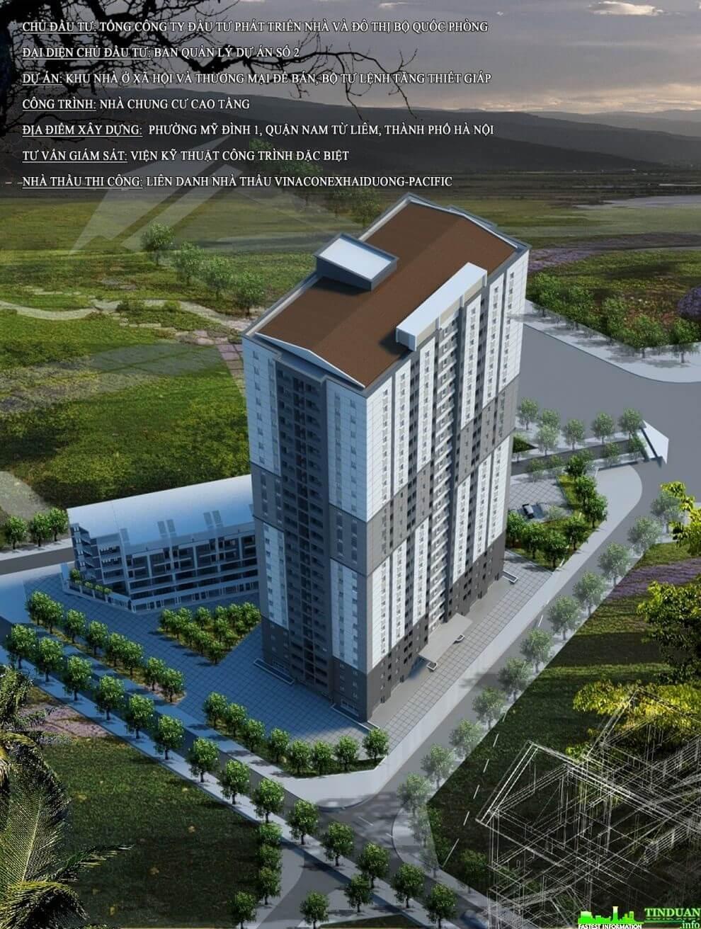 Dự án chung cư Tăng Thiết Giáp Bộ Tư Lệnh.