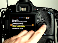 How to Setting the Canon 1100d Camera