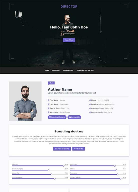 Blogger Tema-Director