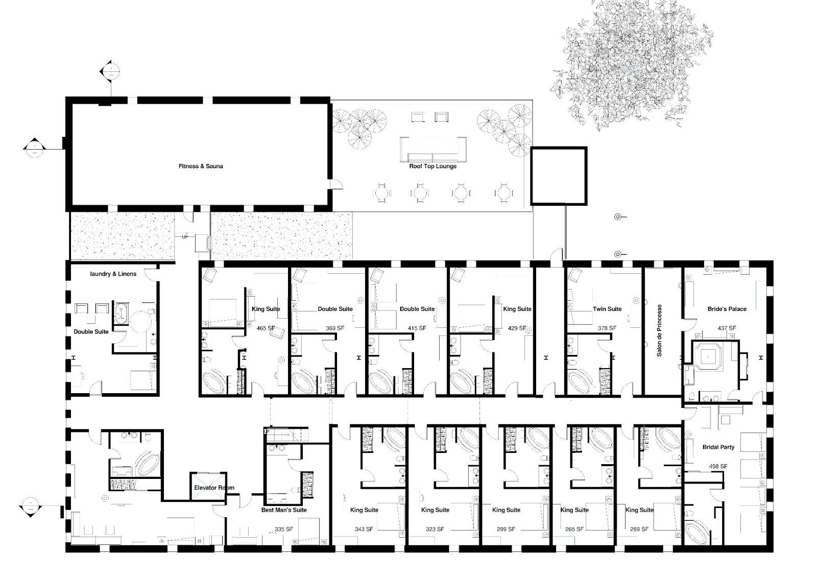 Plan 652 also Meetings and events moreover The Deck House 13 as well In Home Massage Room Floor Plan furthermore Open Kitchen Restaurant Layout. on resort home plans