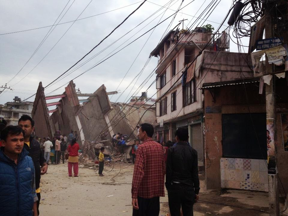 There have been no official reports of damage or injuries. However, Reuters witness said some buildings in Kathmandu had collapsed.
