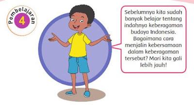 Kunci Jawaban Buku Kelas 4 SD Pembelajaran 4 Tema 1 Subtema 2