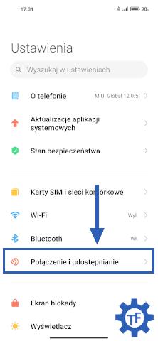 Ustawienia w Xiaomi