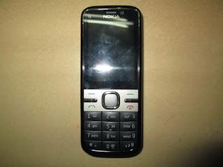 Hape Jadul Nokia C5-00 Seken Mulus Kolektor Item