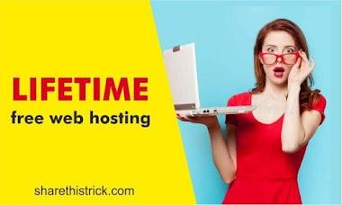 Lifetime free web hosting ki 5 best websites ✔️👇