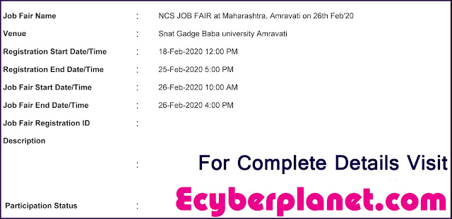 Job fair in Amravati