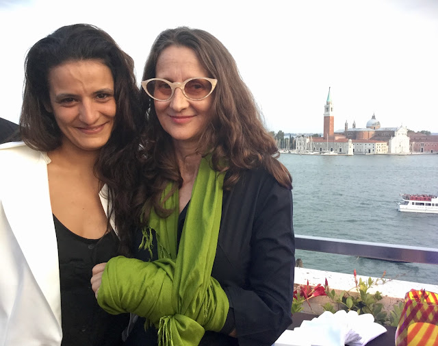Lucrecia Martel, President of Jury with partner Julieta Laso - Photo: Cat Bauer