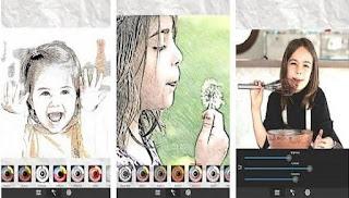 تطبيق Sketch Me! Sketch&Cartoon لتحويل الصور الى كرتون