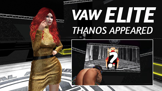 Second Life Wrestling • VAW ELITE (11.3.2018) • THANOS APPEARED