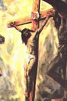 His Crucifixion