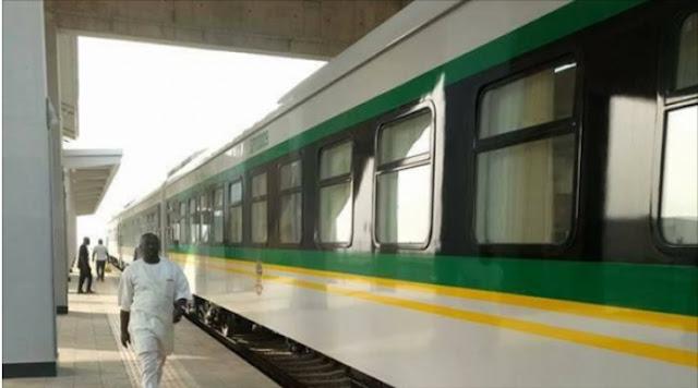 Obasanjo missing as Buhari names railway stations after 'deserving Nigerians'