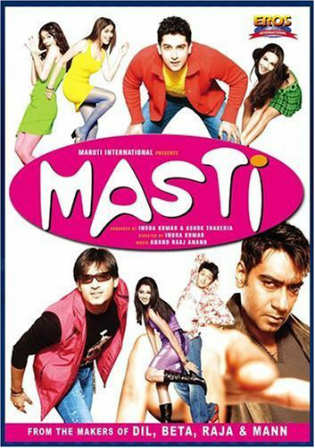 Masti 2004 HDRip 400MB Full Hindi Movie Download 480p Watch Online Free bolly4u