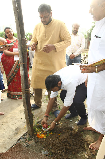Bhoomi Poojan at Chitrakoot Grounds