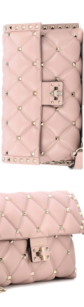 VALENTINO Valentino Garavani Candystud leather shoulder bag