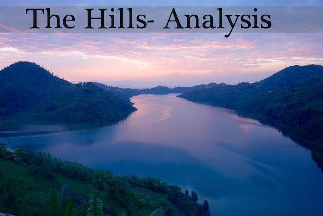 the hills by manoj das - analysis
