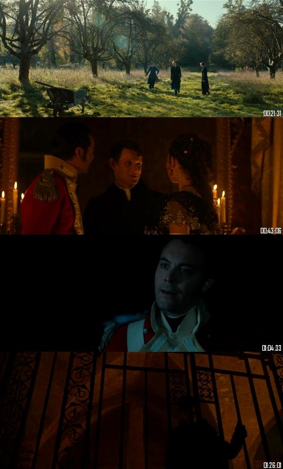 Pride and Prejudice and Zombies 2016 BRRip 720p 480p Dual Audio Hindi English Full Movie Download