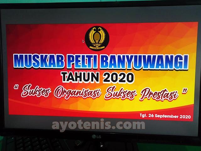 PELTI Banyuwangi Bakal Gelar Muskab pada Sabtu, 26 September 2020