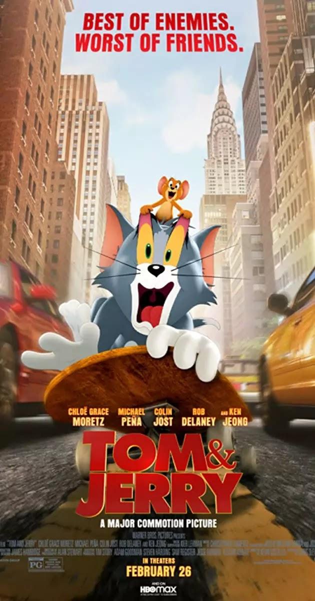 Download Tom and Jerry (2021) Dual Audio {Hindi-English} WeB-HD RiP 480p [360MB] || 720p [1GB] || 1080p [1.6GB]