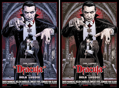Dracula Screen Print by Chris Weston x Bottleneck Gallery x Vice Press