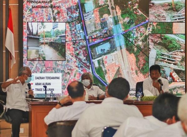 """Penanggulangan Banjir, Wako Batam: Rp 23 Miliar, """"Saya Tidak Tau Cukup atau Tidak"""""""