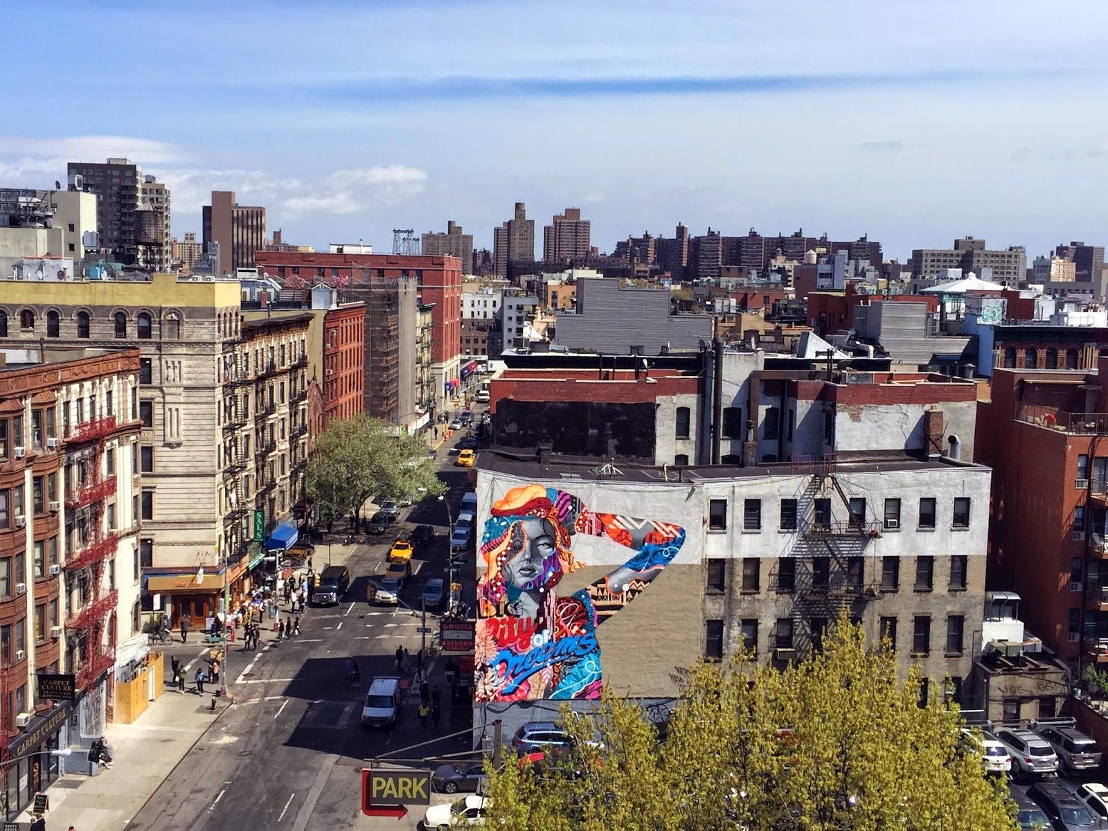 Oeuvre de Tristan Eaton à NYC, USA