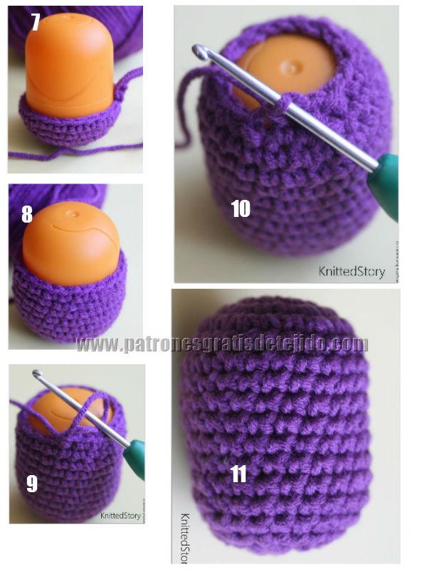 Atractivo Búho Libre Patrón De Crochet Sombrero Ornamento - Manta de ...