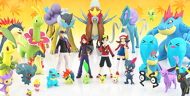 Bandai is BACK With Johto Scale World Figures!
