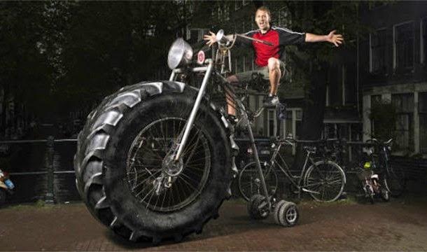 จักรยานที่หนักมากที่สุดในโลก