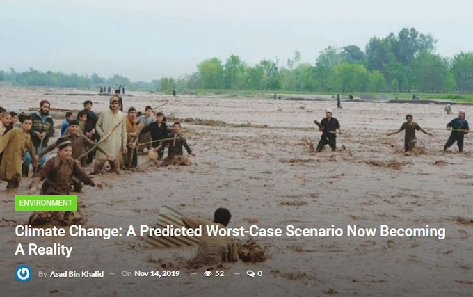Environmental Change: A Predicted Worst-Case Scenario Now Becoming A Reality