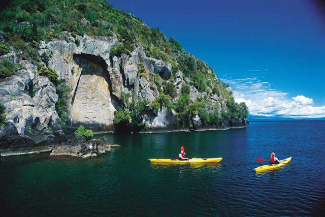 Ngỡ ngàng trước vẻ đẹp của hồ Taupo