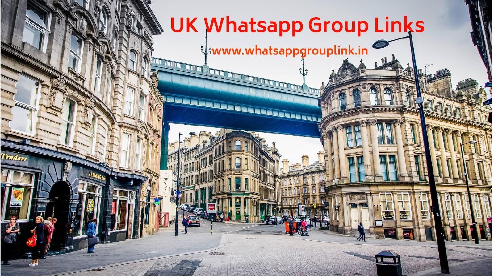 Whatsapp Group Link: UK Whatsapp Group Links