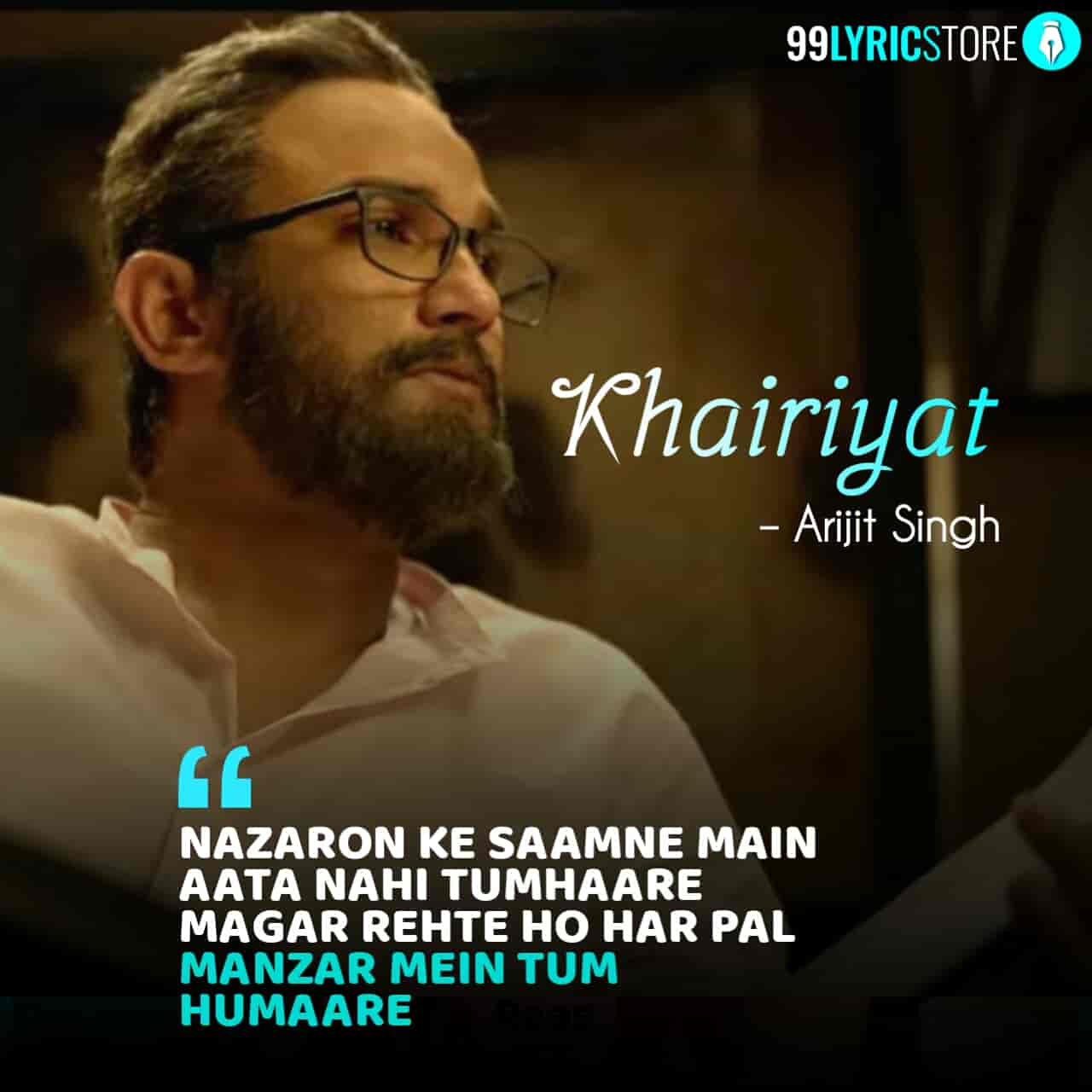Khairiyat Hindi Sad Song sung by Arijit Singh from movie chhichhore