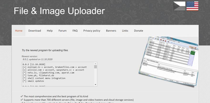 File & Image Uploader 批量上傳檔案