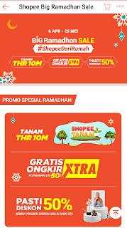 #THRBigRamadhanSale2020 Bersama Shopee
